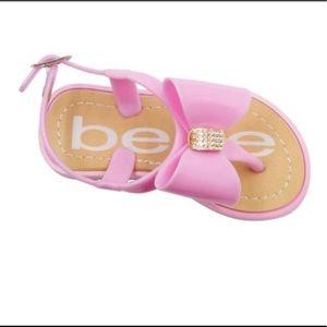 Bebe Pink Sandals
